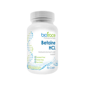 Biotrace Betaine HCL 90 Capsules