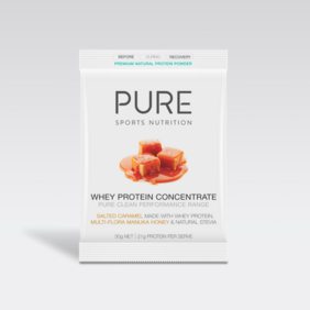 Pure Whey Protein Salted Caramel 30gm - single sachet