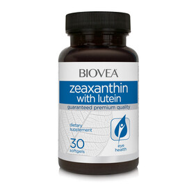 Biovea Zeaxanthin with Lutein 30 Capsules