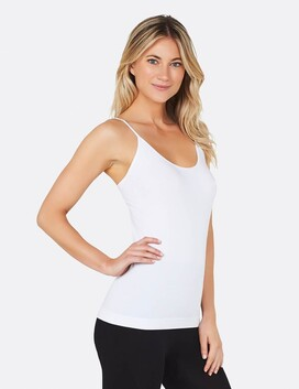 Women's White Cami Top Large